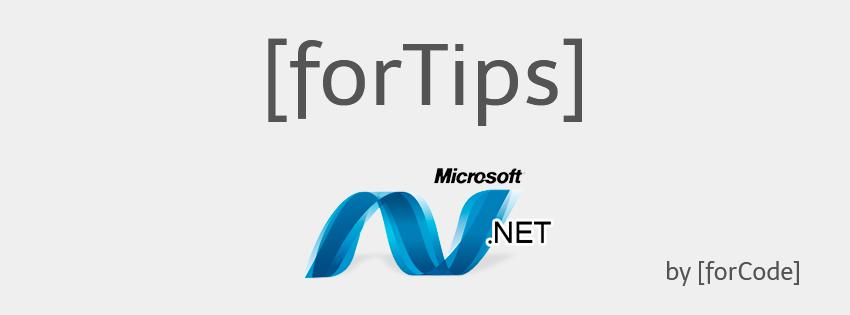 [forTips] .NET