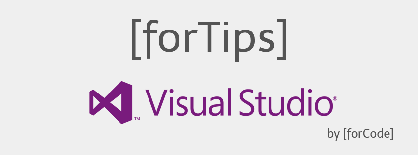 [forTips] Visual Studio